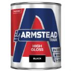 Armstead Trade High Gloss Black 5 Litres